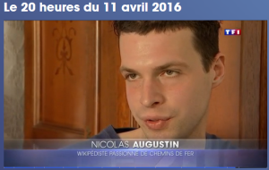 2016-04-11 TF1 journal de 20h Nicolas Augustin ©TF1 avril 2016